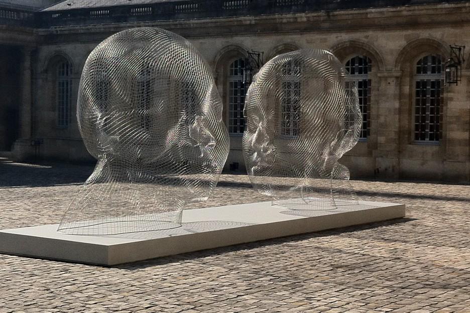 Oeuvre Jaume Plensa à la Mairie de Bordeaux