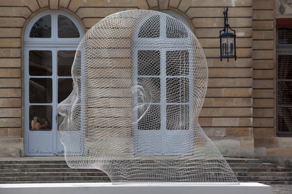Oeuvre Jaume Plensa Mairie à Bordeaux
